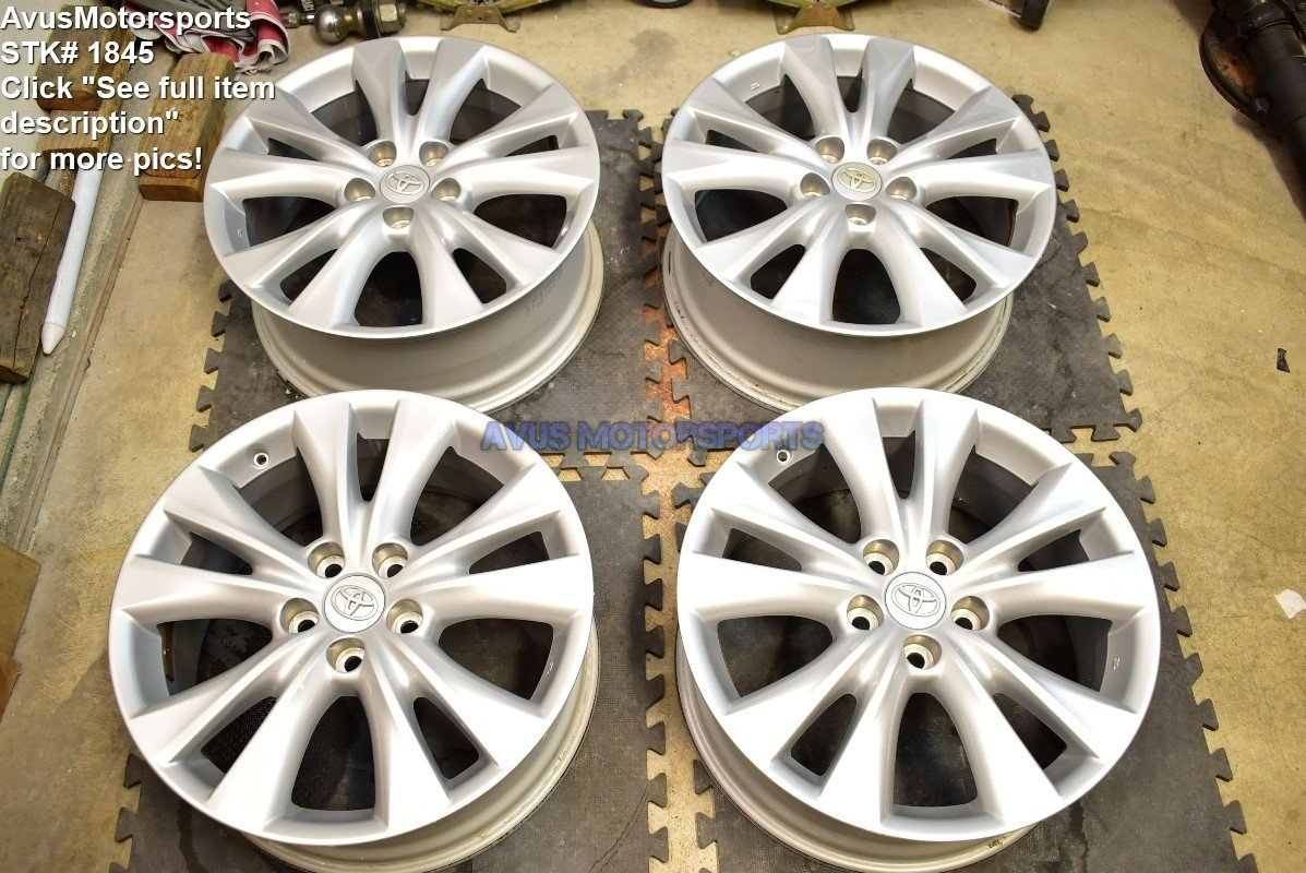 "18"" Toyota Rav4 Limited OEM Factory Wheels Camry Avalon Tacoma"