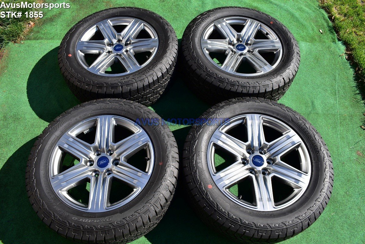 "20"" Ford F150 OEM Factory FX4 XLT Lariat Wheels Tires Expedition 2017 2018"