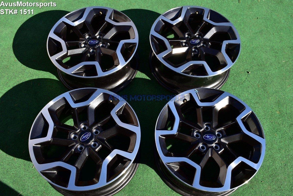 "2017 Subaru XV Crosstrek OEM 17"" Factory Wheels Outback Forester"