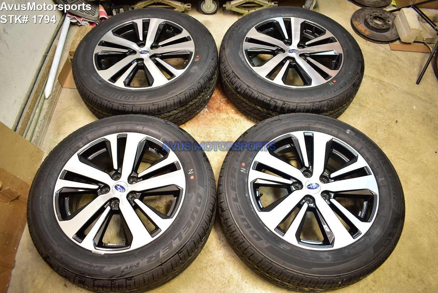 """2018 Subaru Outback Limited 18"""" OEM Factory Wheels 225/60R18 Tires 2017"""