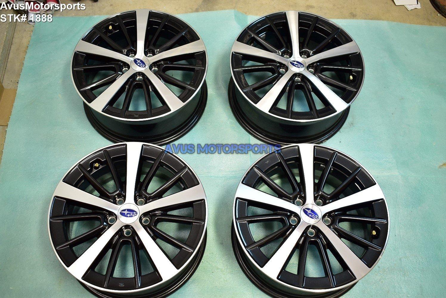 "16"" Subaru Impreza OEM Factory Genuine Wheels 2019 WRX 5x100"