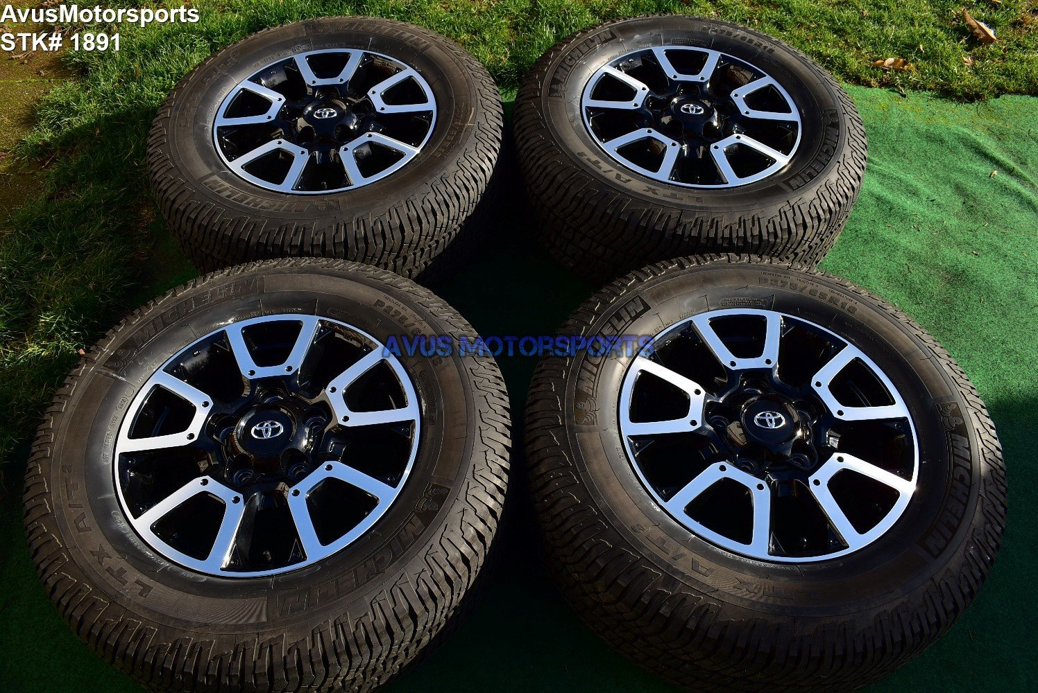 "18"" Toyota Tundra Off Road OEM Factory Wheels Tires TRD offroad Sequoia"