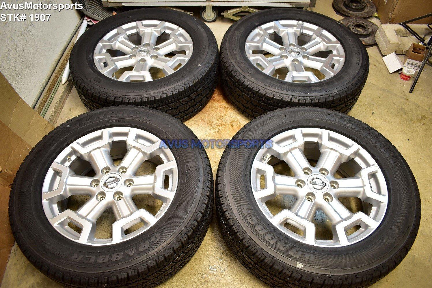 "20"" Nissan Titan XD OEM Factory Wheels Tires Armada 2018 2017 2016 Genuine TPMS"