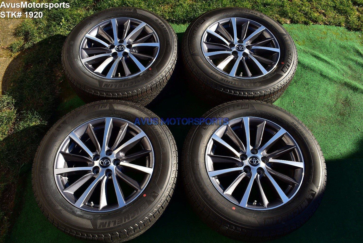 "18"" Toyota Highlander OEM Wheels Tacoma Lexus RX450 RX350 RX300 Venza TPMS 2019"