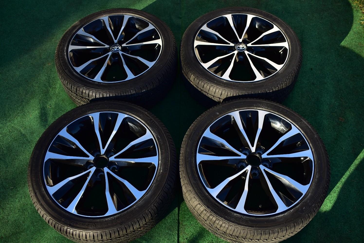 "17"" Toyota Corolla S Factory OEM Wheels Firestone P215/45R17 2017 Prius"