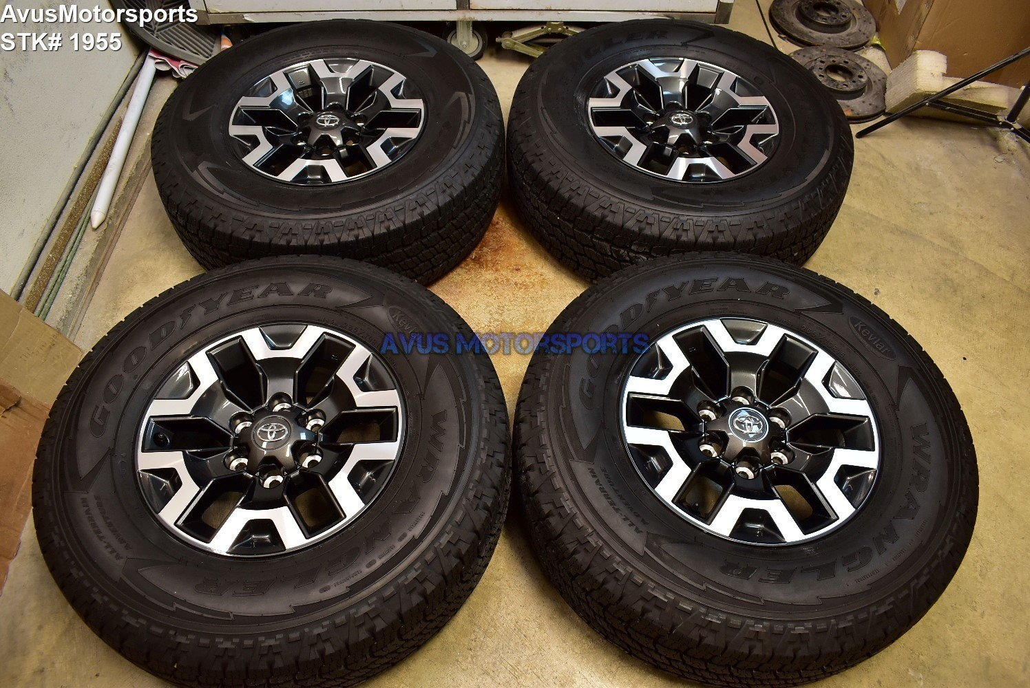 "16"" TOYOTA TACOMA OEM FACTORY TRD OFFROAD WHEELS Tires 4runner Tundra 2019"