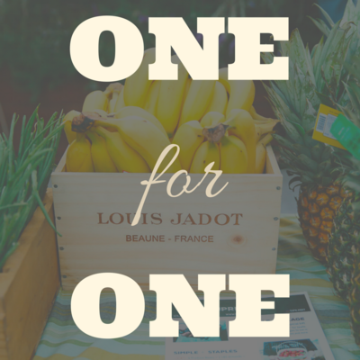 One- For- One: Donate Groceries