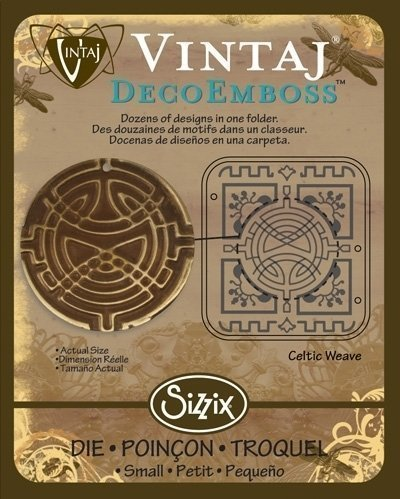 VINTAJ DECOEMBOSS DIE CELTIC WEAVE