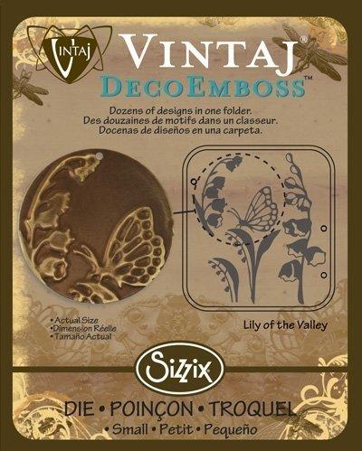 VINTAJ DECOEMBOSS DIE LILY OF THE VALLEY