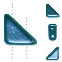 TANGO BEAD 2-HOLE 6MM PASTEL PETROL - 12g Bag (approx 80)