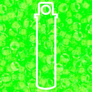 8/0 ROUND LUMINOUS MINT GREEN-APPX 22GM