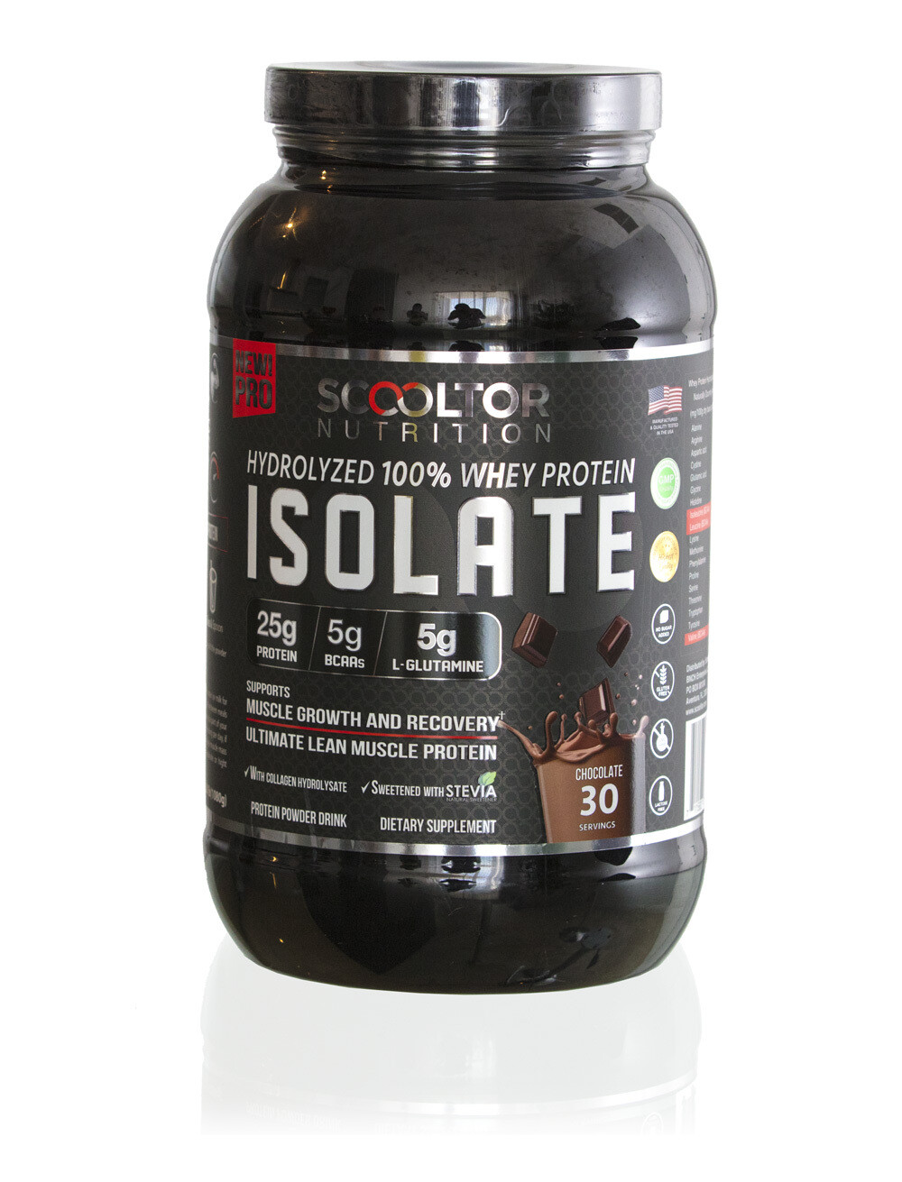 Scooltor Hydrolyzed 100% Whey Protein Isolate