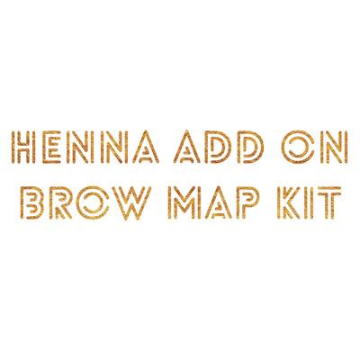 Henna ADD ON Brow Map Kit