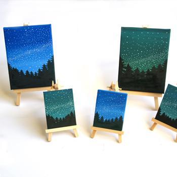 Starry Night Canvas