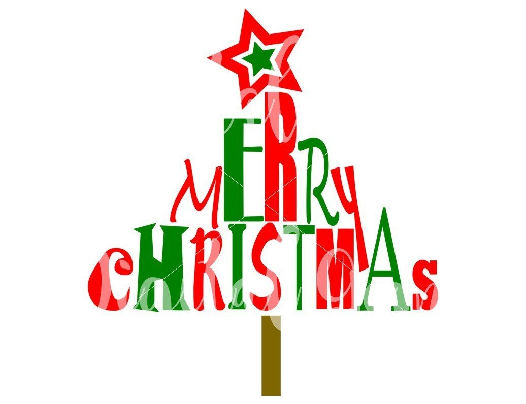 merry christmas svg dxf eps png files