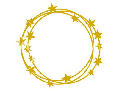 Star frame SVG / DXF / EPS / PNG Files