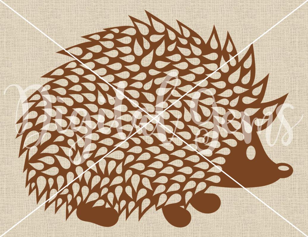 Hedgehog Svg Dxf Eps Png Files
