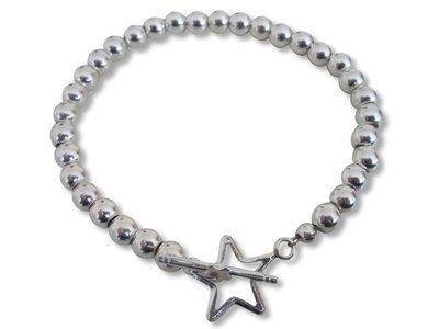 Sterling Silver  Star Bracelet
