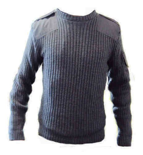 Royal Air Force Genuine Issue Round Neck Wool Jumpers