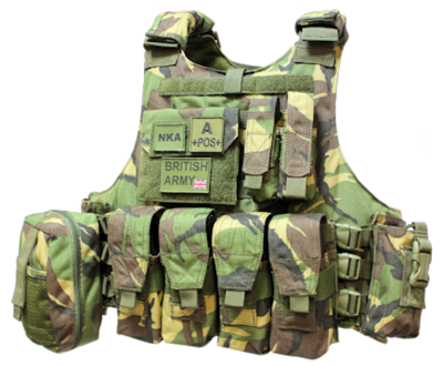 Plate Carriers British Army Issue Desert Pattern MK.1 body armour carrier