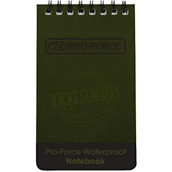8b05963f9c8d British Army Style New Waterproof All Weather A6 Notepad 50 Pages
