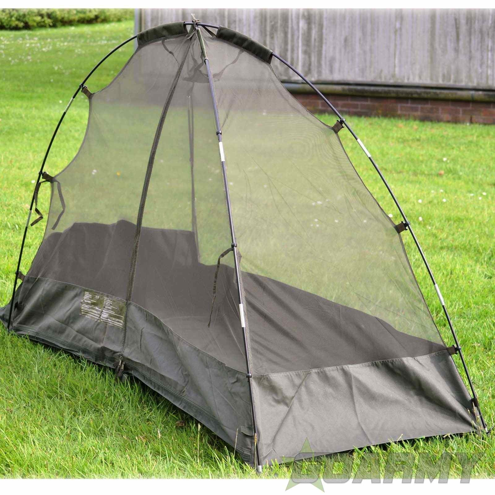 British Army New Genuine Issue Field Cot Bed Mosquito Nets Tents