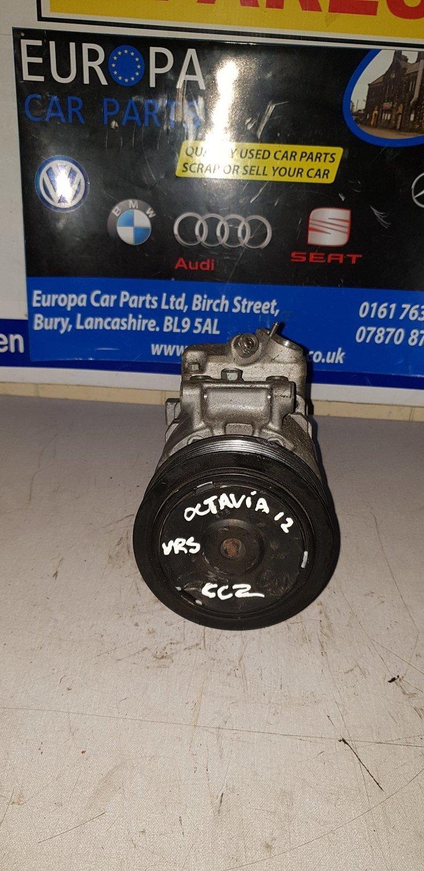 OCTAVIA VRS 2 0 TSI AIR CONDITIONING COMPRESSOR 1K0 820 808 A