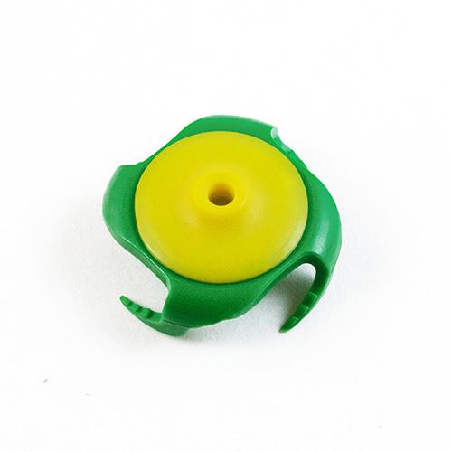 Tee Claw (3-Pack) – gelb & grün