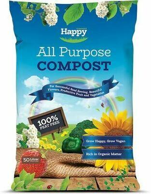 Happy All Purpose Compost (Peat Free) BNM-9571d