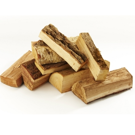 Dried Hardwood Logs Bulk Bag