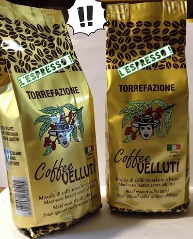 """N. 2 Pacchetti di Caffé Oro 250 gr. cadauno Macinato per macchina """"Espressa"""" (grinded coffee)"""