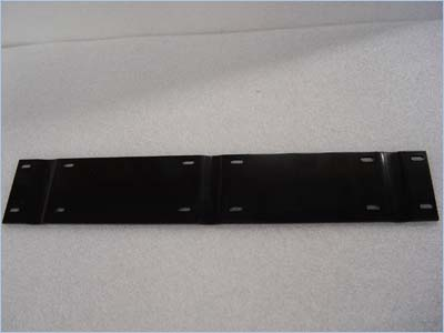 Navigator Dual Motor Mount Plate - Stainless Steel