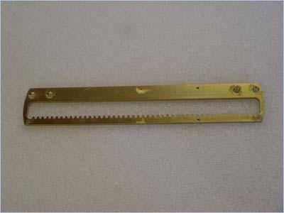 Gear Bar - Zinc