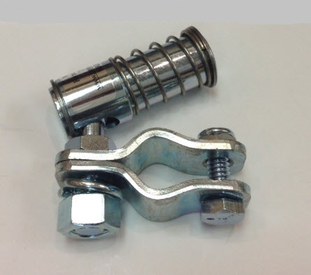 "3/8"" Quick Disconnect End Assembly - Zinc Plated"