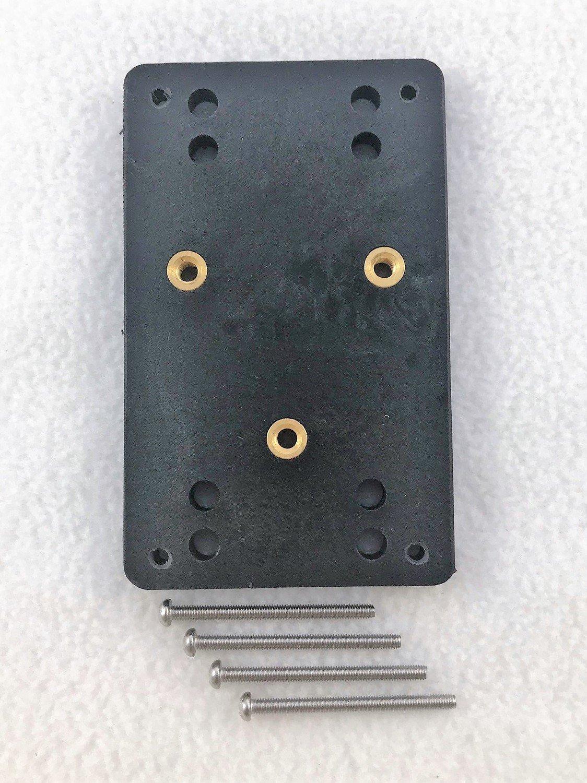 TrollMaster Hand-Held Mount Plate Kit, Nylon