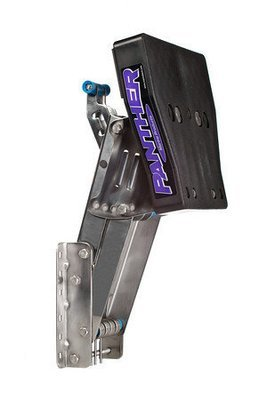 Outboard Motor Bracket + Safety Cable