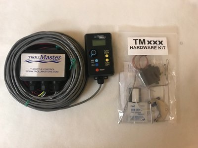 TrollMaster PRO3 Wired Remote Throttle and Steering Control