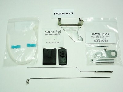TrollMaster TM201HWKIT - Mercury/Mariner 1990-2004, 9.9 & 15 HP, Yamaha 1990-2006, 9.9 & 15 HP