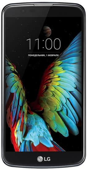 Смартфон LG K430DS K10 LTE Black