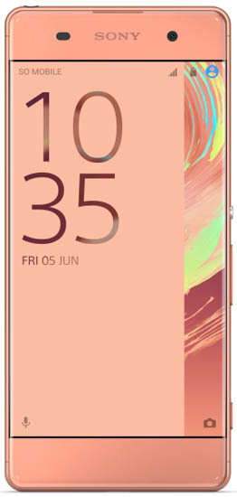 Смартфон Sony F3112 Xperia XA Dual 16Gb LTE Rose Gold