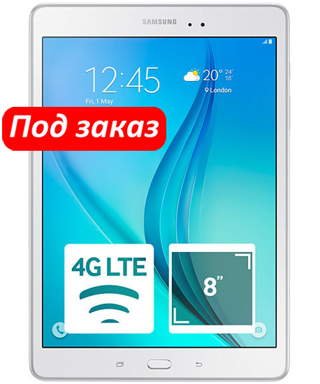 Планшет Samsung SM-T355 Galaxy Tab A 8.0 16Gb LTE White