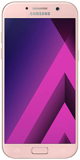 Смартфон Samsung Galaxy A5 2017 (SM-A520F) Duos 32Gb LTE Pink