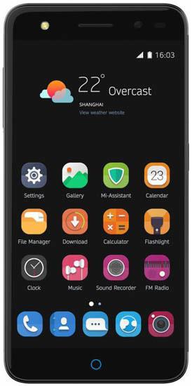 Смартфон ZTE Blade V7 Lite Dual SIM 16Gb LTE Gray