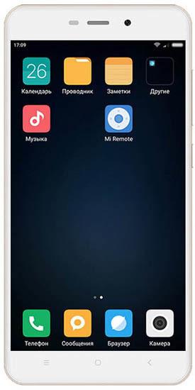 Смартфон Xiaomi Redmi 4A 16Gb LTE Rose Gold