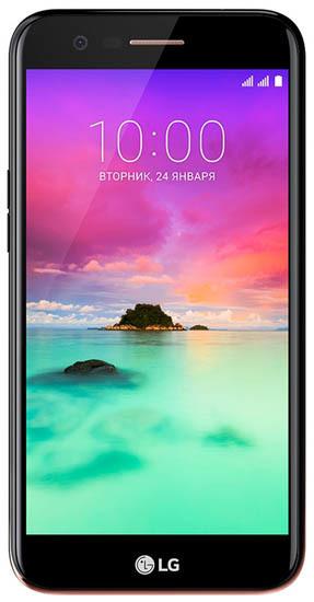 Смартфон LG K10 2017 (LGM250) 16Gb LTE Black
