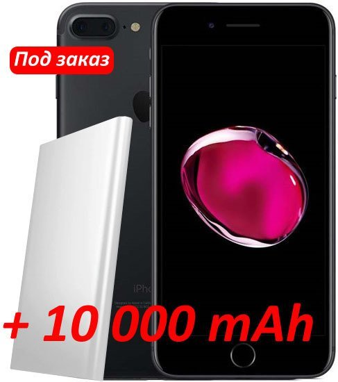 Смартфон Apple iPhone 7 Plus 256Gb Black (MN4W2RM/A)