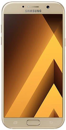 Смартфон Samsung Galaxy A7 2017 A720F Duos 32Gb LTE Gold