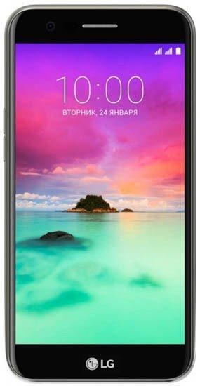 Смартфон LG K10 2017 (LGM250) 16Gb LTE Gray