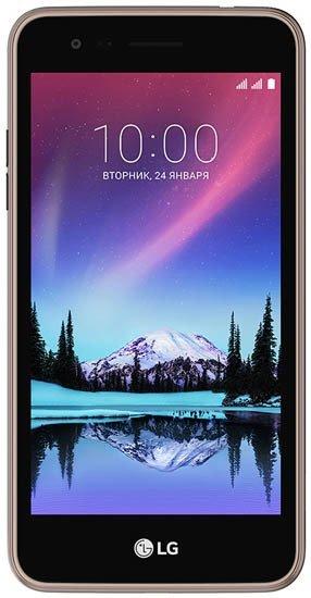 Смартфон LG K4 2017 (X230) 8Gb LTE Brown