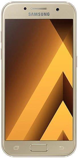 Смартфон Samsung Galaxy A3 2017 A320F Duos 16Gb LTE Gold